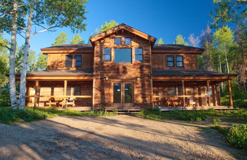 Lodge exterior at The Cabins at Historic Columbine.