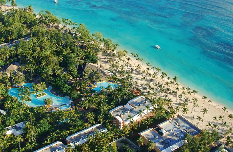 Arial View at Barceló Dominican Beach
