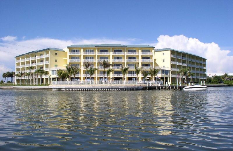 Exterior view of Boca Ciega Resort.