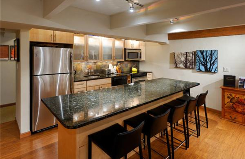 Rental kitchen at Frias Properties of Aspen - Chateau Chaumont #4.