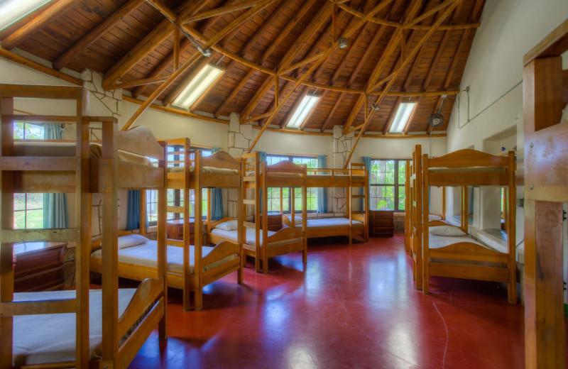 Guest bedroom at Mo-Ranch.