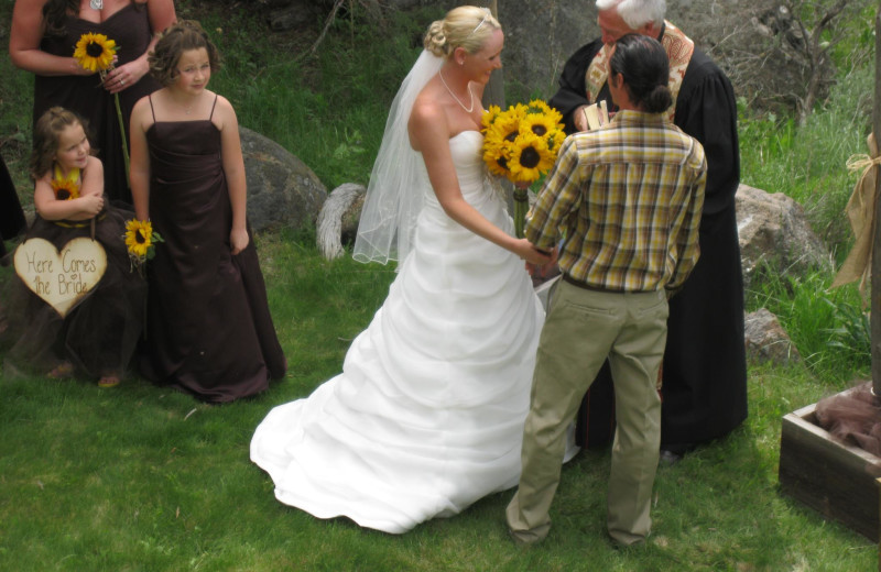 Wedding at Aspen Ridge Resort.
