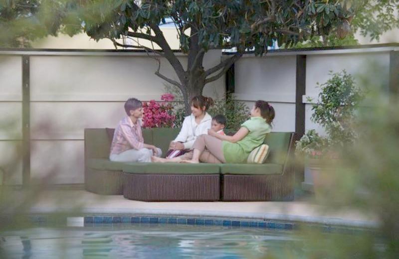 Relax at Roman Spa Hot Springs Resort.