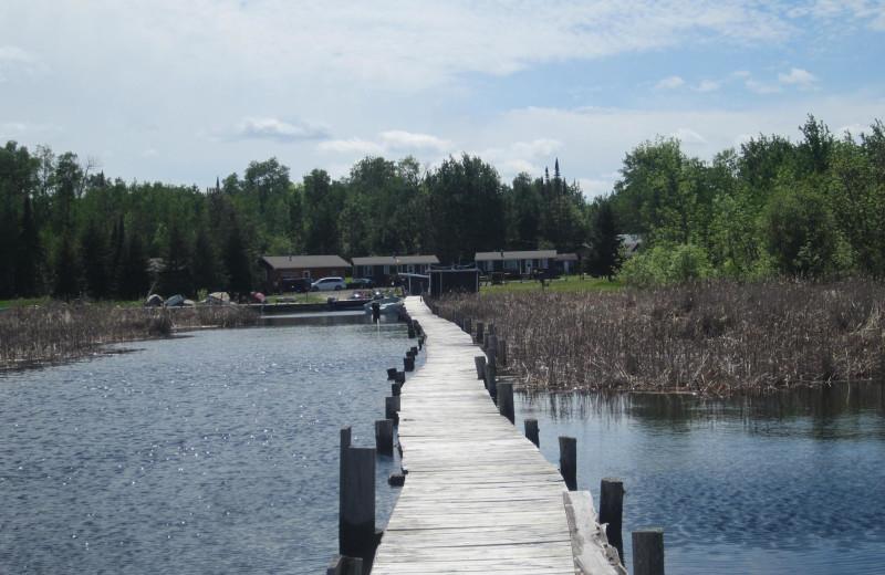 Exterior view of Kec's Kove Resort.