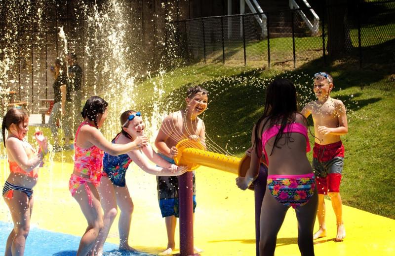Splash pool at Oglebay Resort and Conference Center.