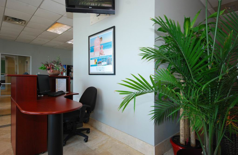 Business center at Legacy by the Sea.