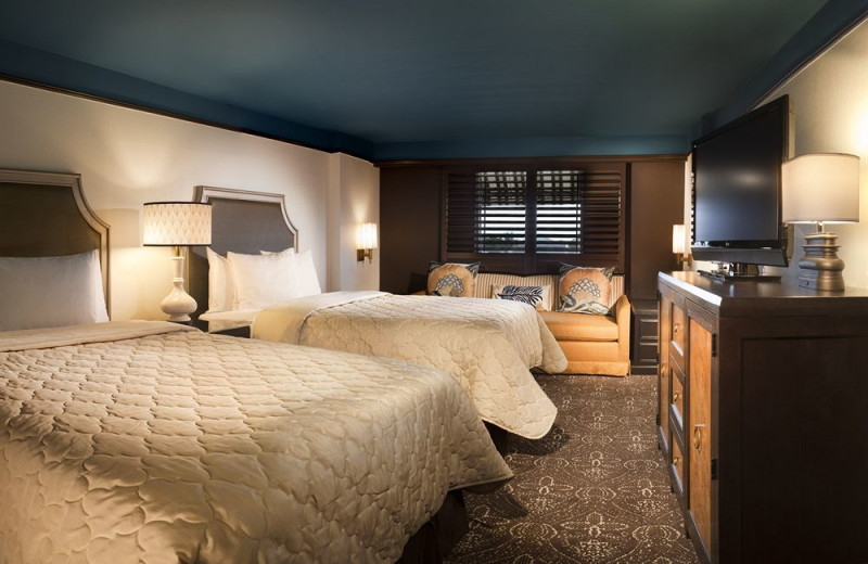 Guest room at La Concha Hotel & Spa.