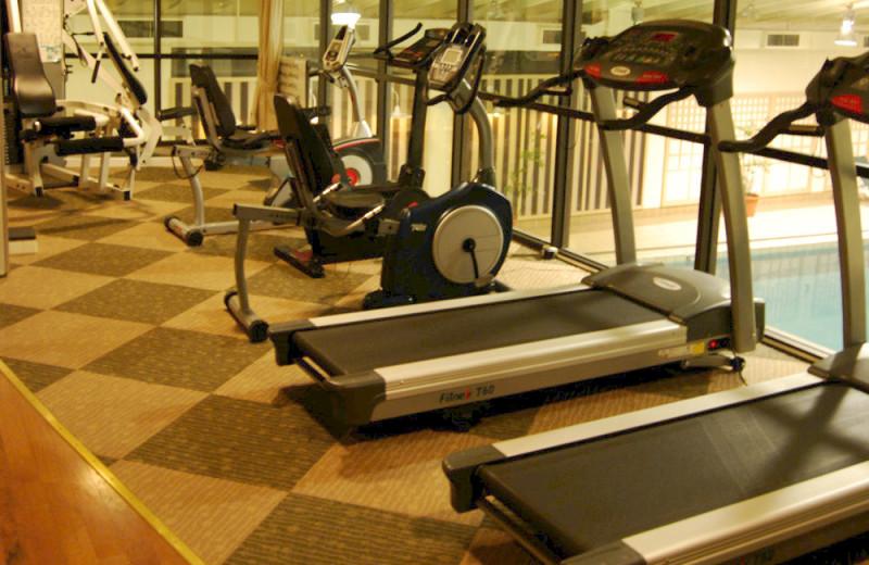 Fitness center at The Margate on Winnipesaukee.