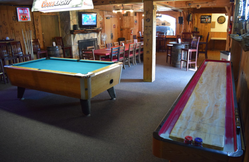 Recreation room at Flying L Hill Country Resort & Conference Center.