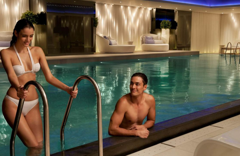 The pool at Hotel Miramar.