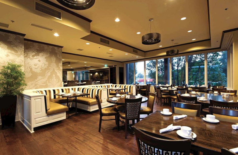 Dining at Executive House Hotel.