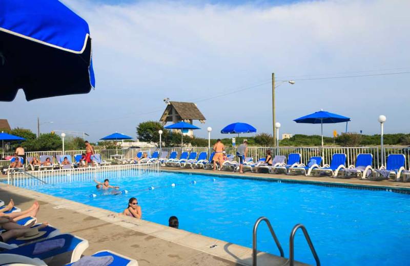 Swimming Pool at La Mer Beachfront Inn