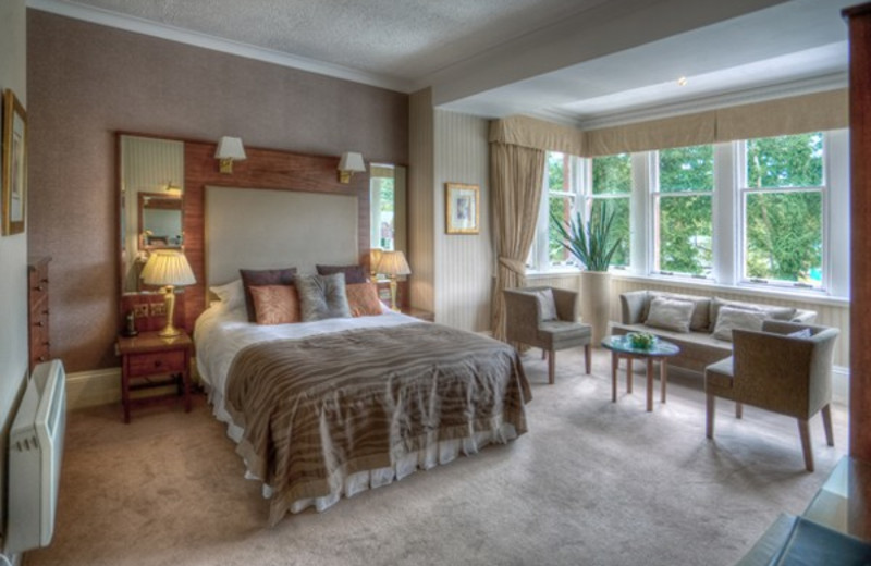 Guest room at Auchrannie Country House Hotel.