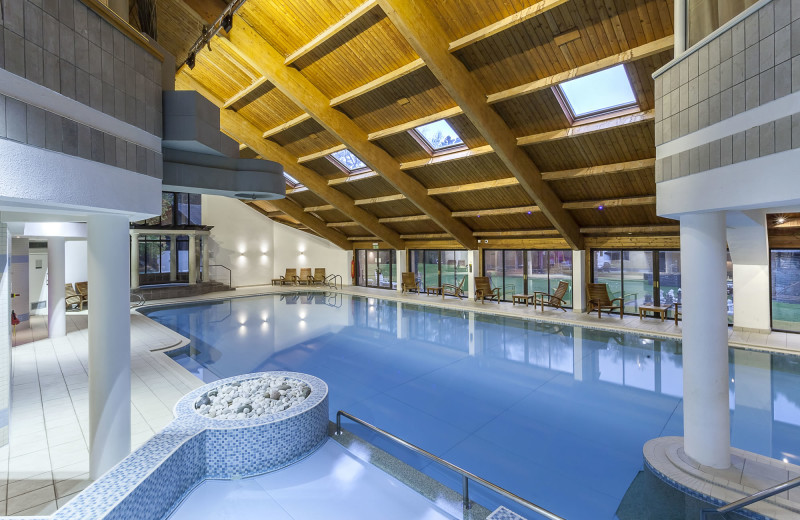Indoor pool at Langdale Estate Holiday and Conference Center.