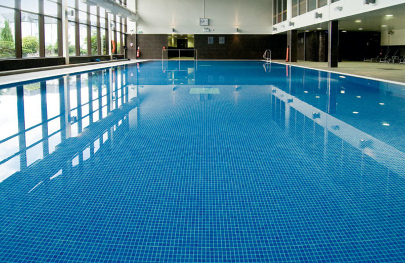 Indoor pool at Macdonald Forest Hills Hotel & Spa.