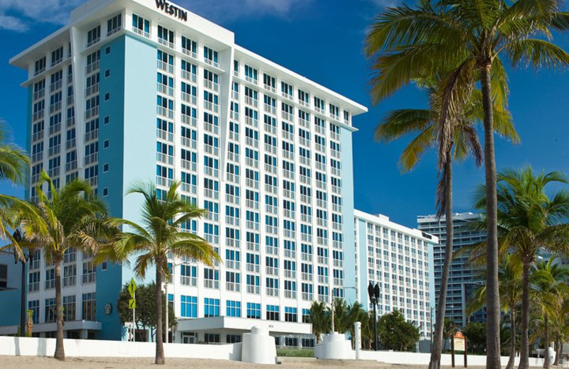 Exterior view of The Westin Beach Resort & Spa, Fort Lauderdale.