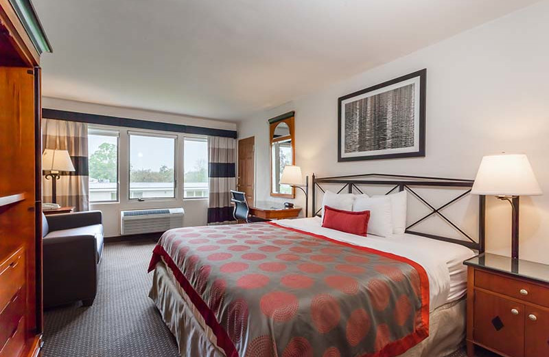 Guest room at The Sullivan.