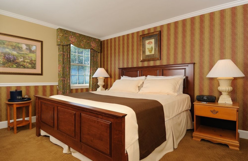 Guest room at The Spa at Norwich Inn.