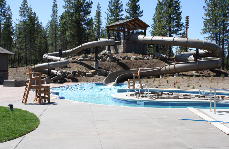 Water park near Mountain Resort Properties.