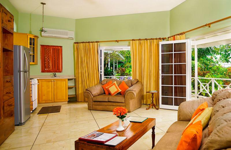 Guest room at Rondel Village.