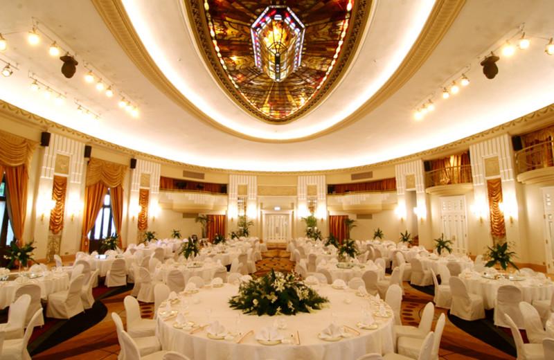 Ballroom at Okura Garden Hotel.