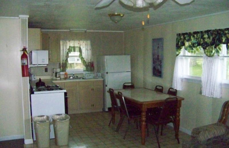 Guest kitchen at Fieldstone Farm.