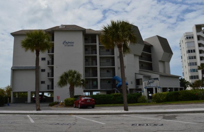 Exterior view of Caprice Resort.