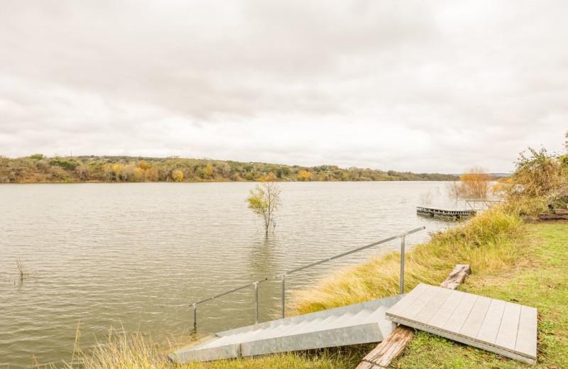 Lake view at Farr Side Lake Vacation Home.