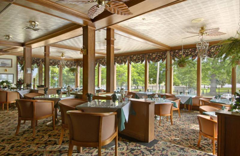 Dining at the Ramada Plaza Hotel Ojibway