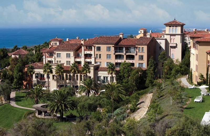 Exterior view of Marriott's Newport Coast Villas.