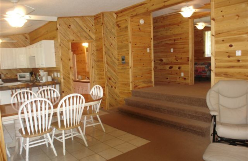 Cabin Kitchen at Ice Cracking Lodge & Resort