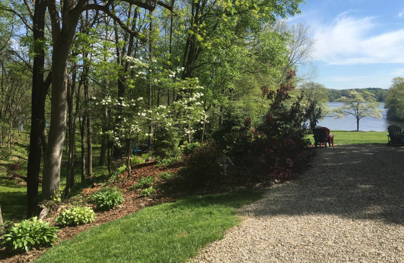 Grounds at Chateau Lake Logan.