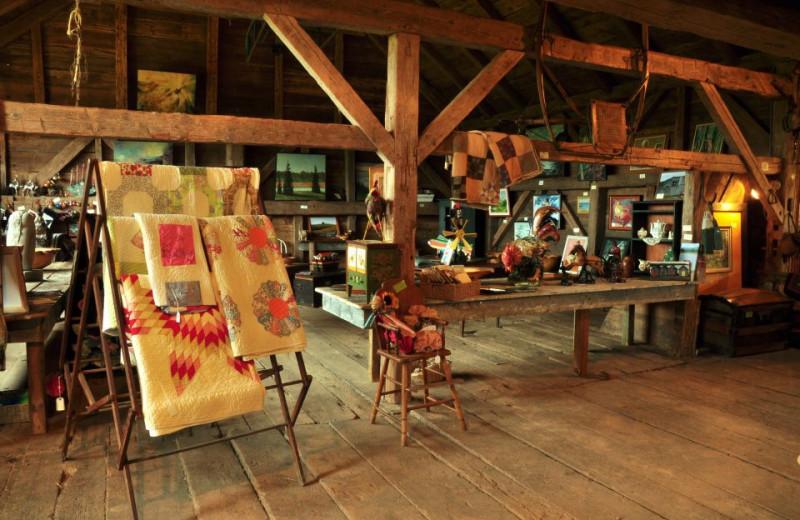 Gift shop at Beaver Dam Farm.