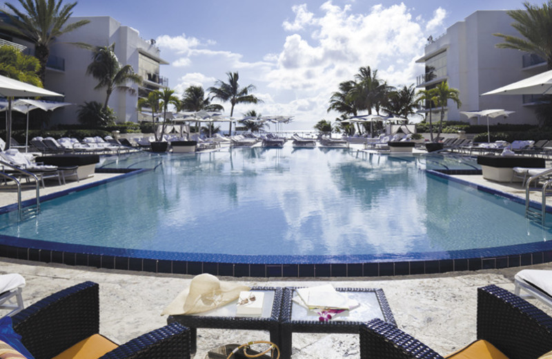 Outdoor pool at The Ritz-Carlton, South Beach.