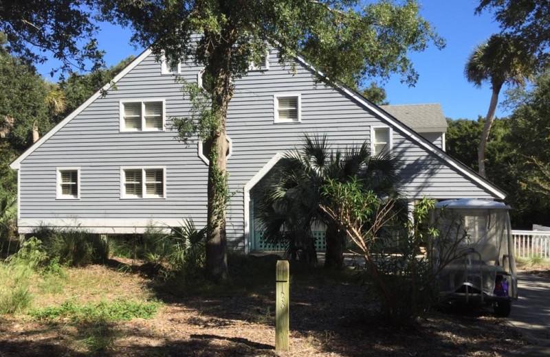 Rental exterior at Mary Munroe Realty: Bald Head Vacations & Sales.