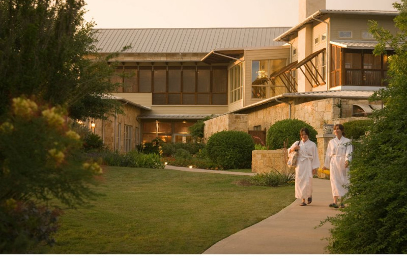 Exterior of Lake Austin Spa Resort