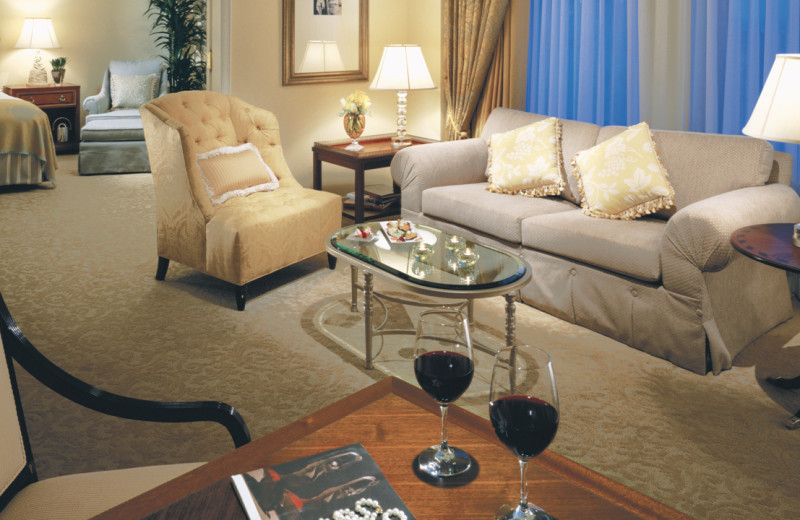 Guest room at Ritz-Carlton, San Francisco.
