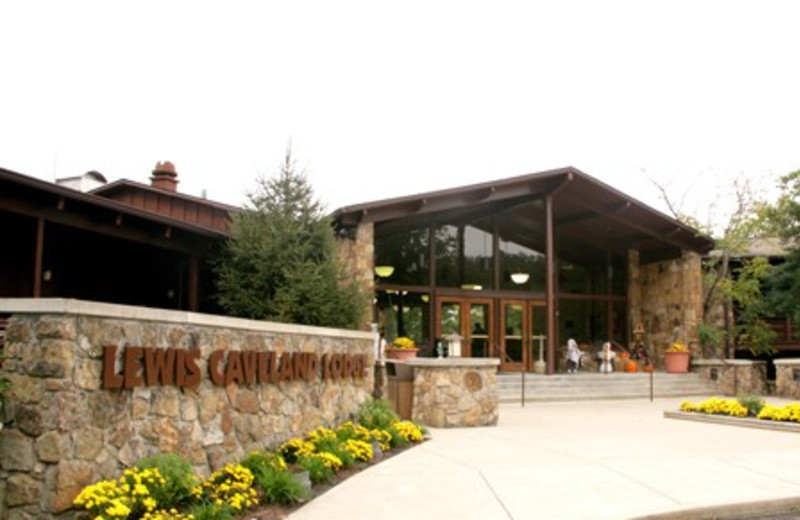 Exterior view of Carter Caves State Resort Park.