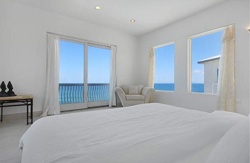 Villa bedroom at Island Properties Luxury Rentals.