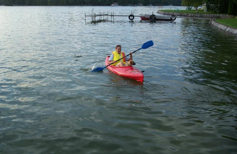 Kayaking at Kangaroo Lake Resort