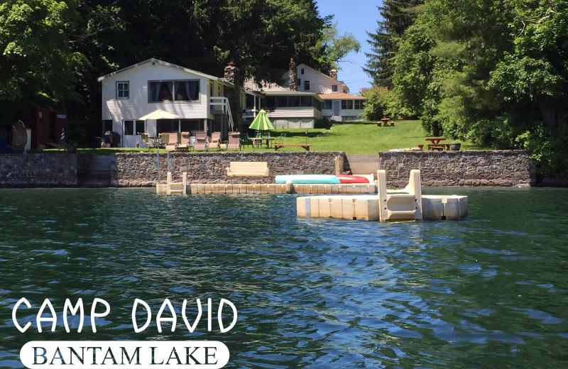 Exterior view of Camp David Bantam Lake.