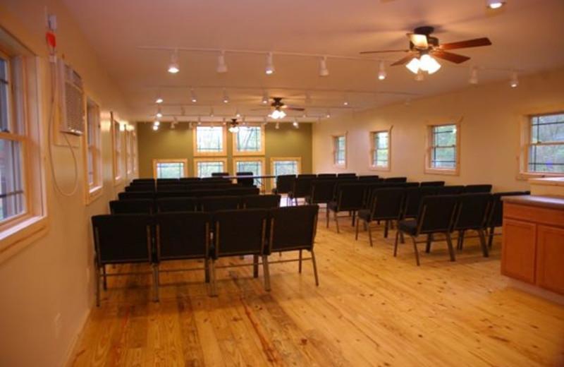 Conference room at Campfire Bay Resort.