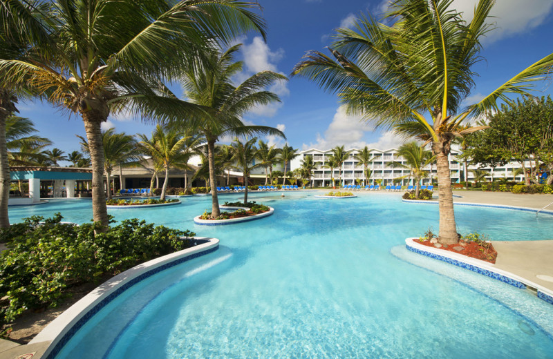Outdoor pool at Coconut Bay Resort.