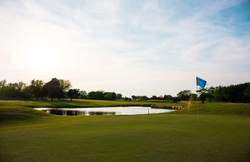 Golf course at Tanglewood Resort and Conference Center.