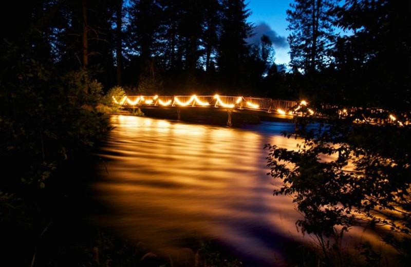 Bridge at Cold Springs Resort.