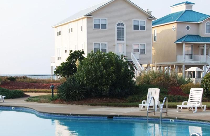 Outdoor pool at Gulf Shores Plantation.