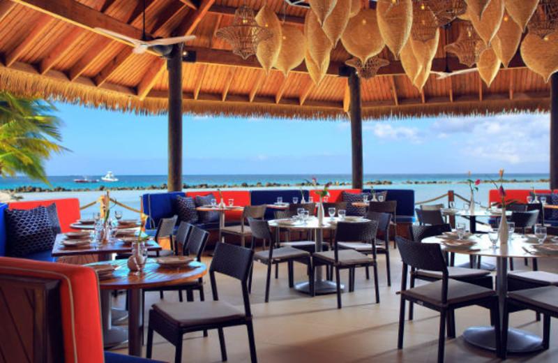 Dining at Renaissance Aruba Resort & Casino.