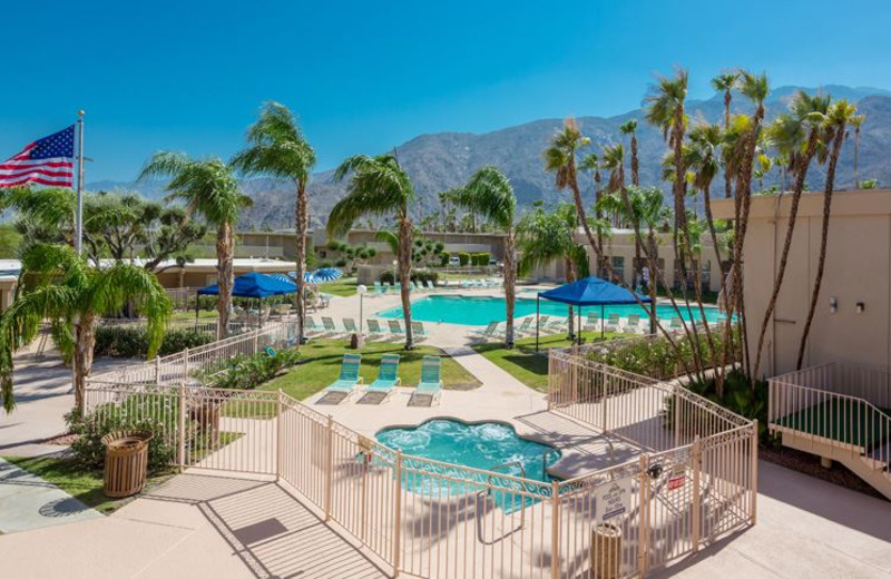 Swimming Pool at Days Inn Palm Springs