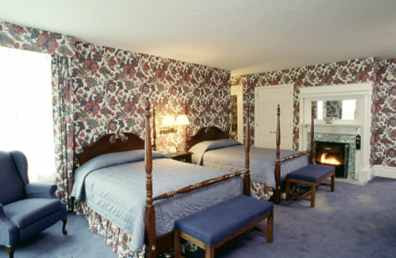 Guest room at West Lane Inn.