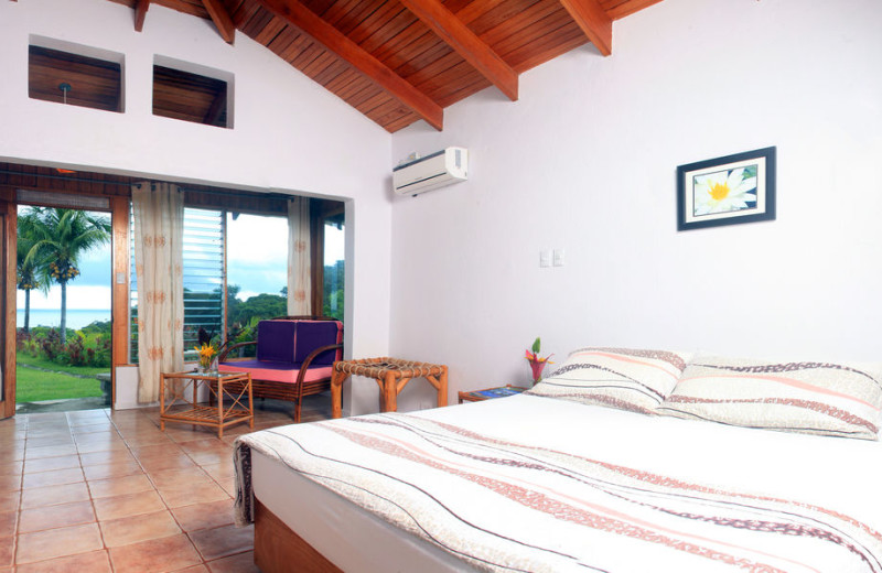 Guest room at The Lookout at Turtle Beach.